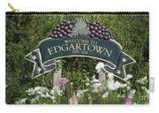 Welcome To Edgartown Carry-all Pouch