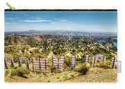 Welcome To Hollywood Carry-all Pouch by Natasha Bishop