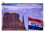Welcome To Monument Valley Carry-all Pouch
