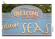 Welcome To Seaside Carry-all Pouch