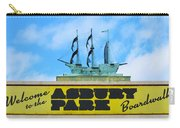 Welcome To The Asbury Park Boardwalk Carry-all Pouch