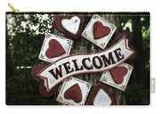 Welcome With Love Carry-all Pouch