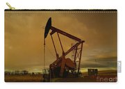 Wellhead At Dusk Carry-all Pouch