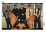 Welsh Corgi Pembroke Art Canvas Print - The Usual Suspects Movie Poster Carry-all Pouch