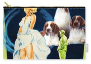 Welsh Springer Spaniel Art Canvas Print - The Seven Year Itch Movie Poster Carry-all Pouch