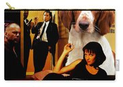 Welsh Springer Spaniel Art Canvas Print - Pulp Fiction Movie Poster Carry-all Pouch