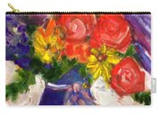 Wendy's Floral Carry-all Pouch
