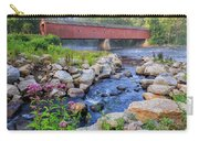 West Cornwall Covered Bridge Summer Carry-all Pouch