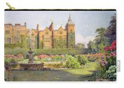 West Front And Gardens Of Hatfield Carry-all Pouch