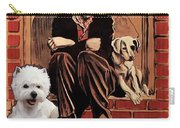 West Highland White Terrier Art Canvas Print - A Dogs Life Movie Poster Carry-all Pouch