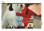 West Highland White Terrier Art Canvas Print - All About Eve Movie Poster Carry-all Pouch
