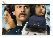 West Highland White Terrier Art Canvas Print - Dances With Wolves Movie Poster Carry-all Pouch