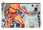West Highland White Terrier Art Canvas Print - Spartacus Movie Poster Carry-all Pouch