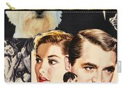 West Highland White Terrier Art Canvas Print - Suspicion Movie Poster Carry-all Pouch