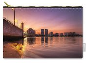 West Palm Beach Skyline At Dusk Carry-all Pouch
