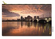 West Palm Beach Skyline At Sunset Carry-all Pouch