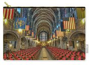 West Point Cadet Chapel Carry-all Pouch by Dan McManus