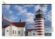 West Quoddy Head Lighthouse Carry-all Pouch