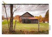 West Virginia Barn In Fall Carry-all Pouch