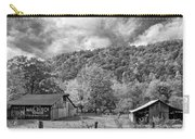 West Virginia Barns Monochrome Carry-all Pouch