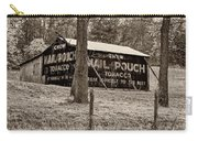 West Virginia Classic Sepia Carry-all Pouch