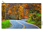 West Virginia Curves 2 Oil Carry-all Pouch