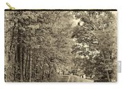 West Virginia Wandering Sepia Carry-all Pouch