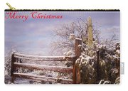Western Christmas Carry-all Pouch