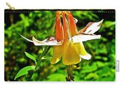 Western Columbine Along Wapta Falls Trail In Yoho National Park-british Columbia Carry-all Pouch