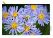 Western Daisies Asters Glacier National Park Carry-all Pouch