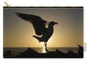 Western Gull At Sunset California Carry-all Pouch