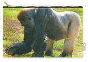 Western Lowland Gorilla Male Carry-all Pouch