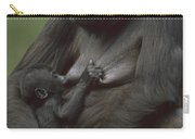 Western Lowland Gorilla Nursing Infant Carry-all Pouch