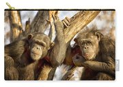 Western Lowland Gorillas Carry-all Pouch