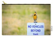 Western Meadowlark Singing Carry-all Pouch