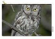 Western Screech Owl Carry-all Pouch