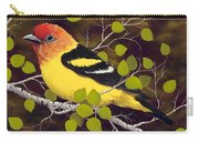 Western Tanager Carry-all Pouch