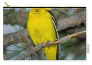 Western Tanager Singing Carry-all Pouch