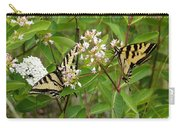 Western Tiger Swallowtail Butterflies Carry-all Pouch