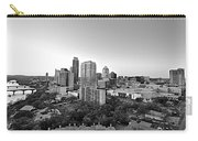 Western View Of Austin Skyline Carry-all Pouch