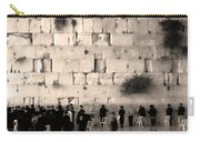 Western Wall Photopaint One Carry-all Pouch