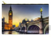 Westminster Bridge And Big Ben Carry-all Pouch