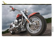 Wet And Wild - Harley Screamin' Eagle Reflection Carry-all Pouch