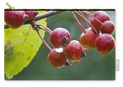 Wet Crab Apples Carry-all Pouch