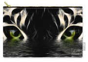 Wet Eye Of A Tiger Carry-all Pouch
