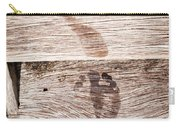Wet Feet Prints Carry-all Pouch