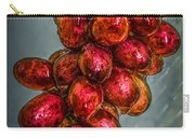 Wet Grapes Four Carry-all Pouch by Bob Orsillo