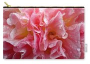 Wet Hollyhock Flower Upclose Carry-all Pouch