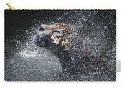 Wet Jaguar  Carry-all Pouch