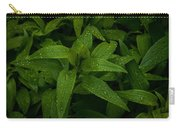 Wet Leaves Carry-all Pouch